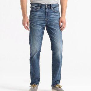 J crewJapanese straight jean stretch 770 denim